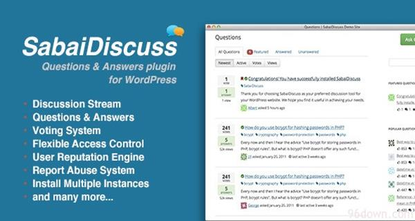 SabaiDiscuss for WordPress