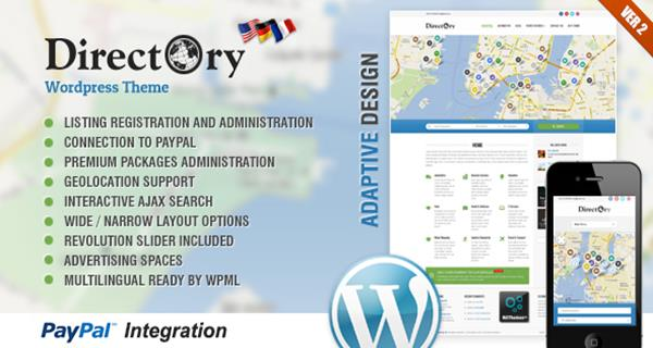 Directory Portal & Listing HTML Template