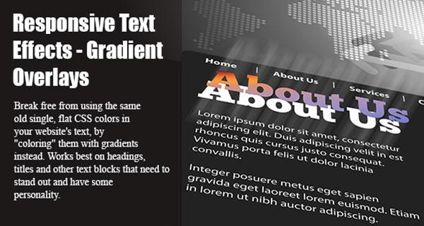 Responsive Text Effects