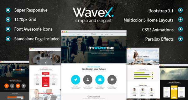 10 best responsive one page parallax templates of 2014