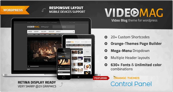 10 Best Responsive Video Themes for WordPress