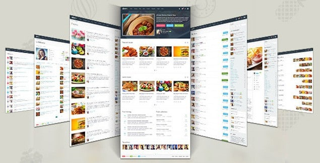 10 best premium food and recipe html templates gustos is a robust html template thats especially designed with recipe websites in mind it comes with all the features you need from recipe presentation forumfinder Images