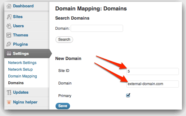 Mapping Domain