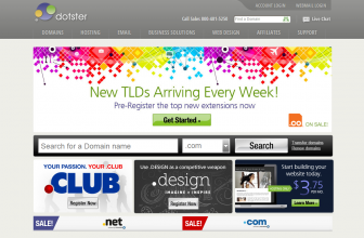 Dotster In-Depth Web Hosting Review