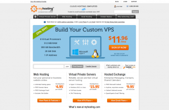 In-Depth MyHosting Review