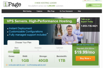 iPage VPS Hosting Plans Reviewed