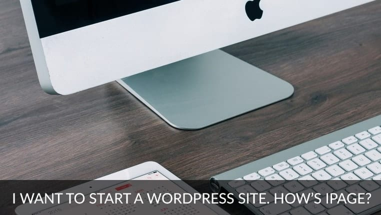 wordpress-on-ipage