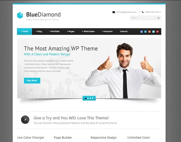 Top pick 10 fresh and popular mobile website templates wajeb Gallery