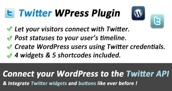 Twitter Connect and Widgets for WordPress