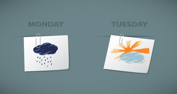 How to Create Sketchy Weather Icons in Illustrator