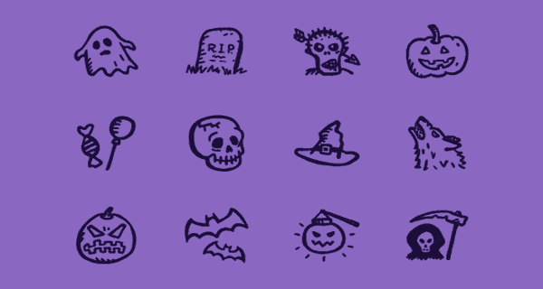 Spooky Icons Free