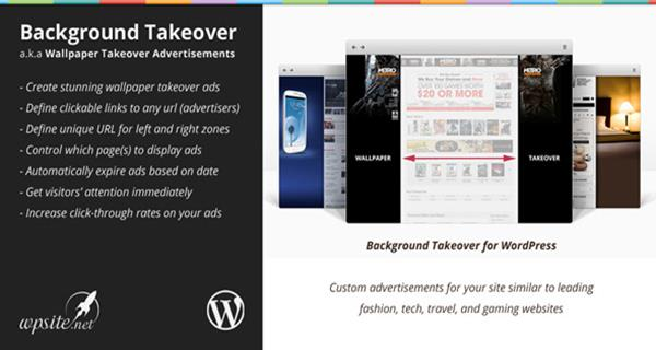WP Background Takeover Advertisements