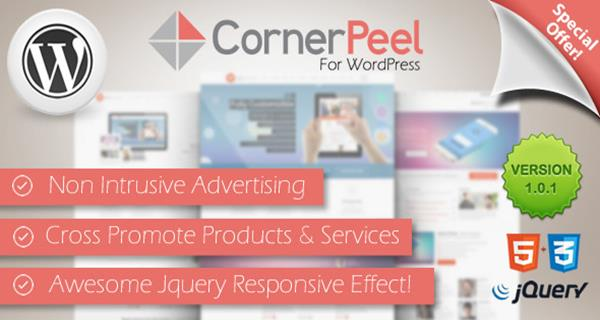WordPress Corner Peel