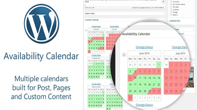 2 - Availability Calendar and Pricing Table Plugin