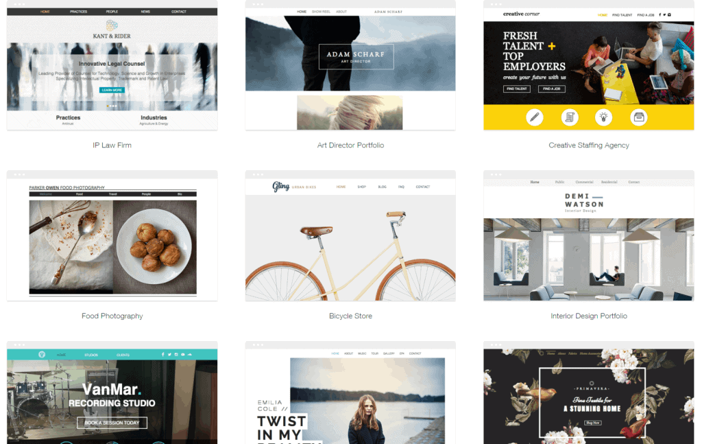 Wixcom Review Of Templates Ease Of Use Features More - Wix ecommerce templates